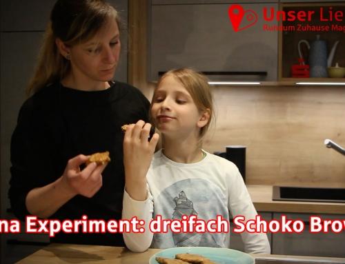 Familie Petzi – Das Experiment dreifach Schoko Brownies